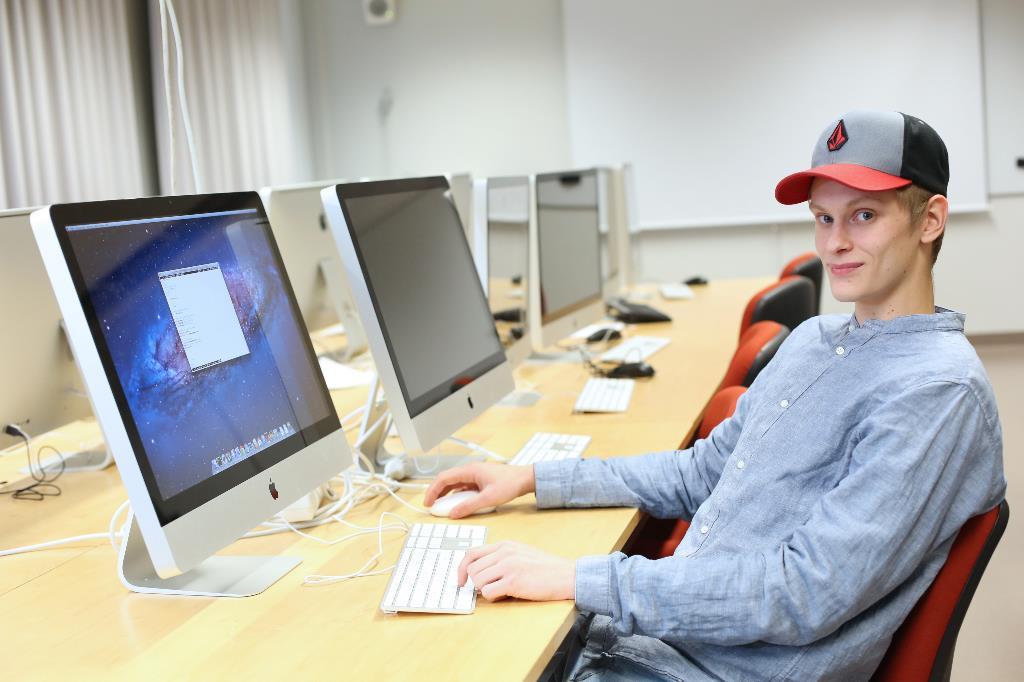 Jori Heikkilä opiskelee datanomiksi