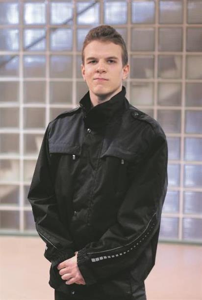 Jaakko Kinnunen opiskelee turvallisuusalaa