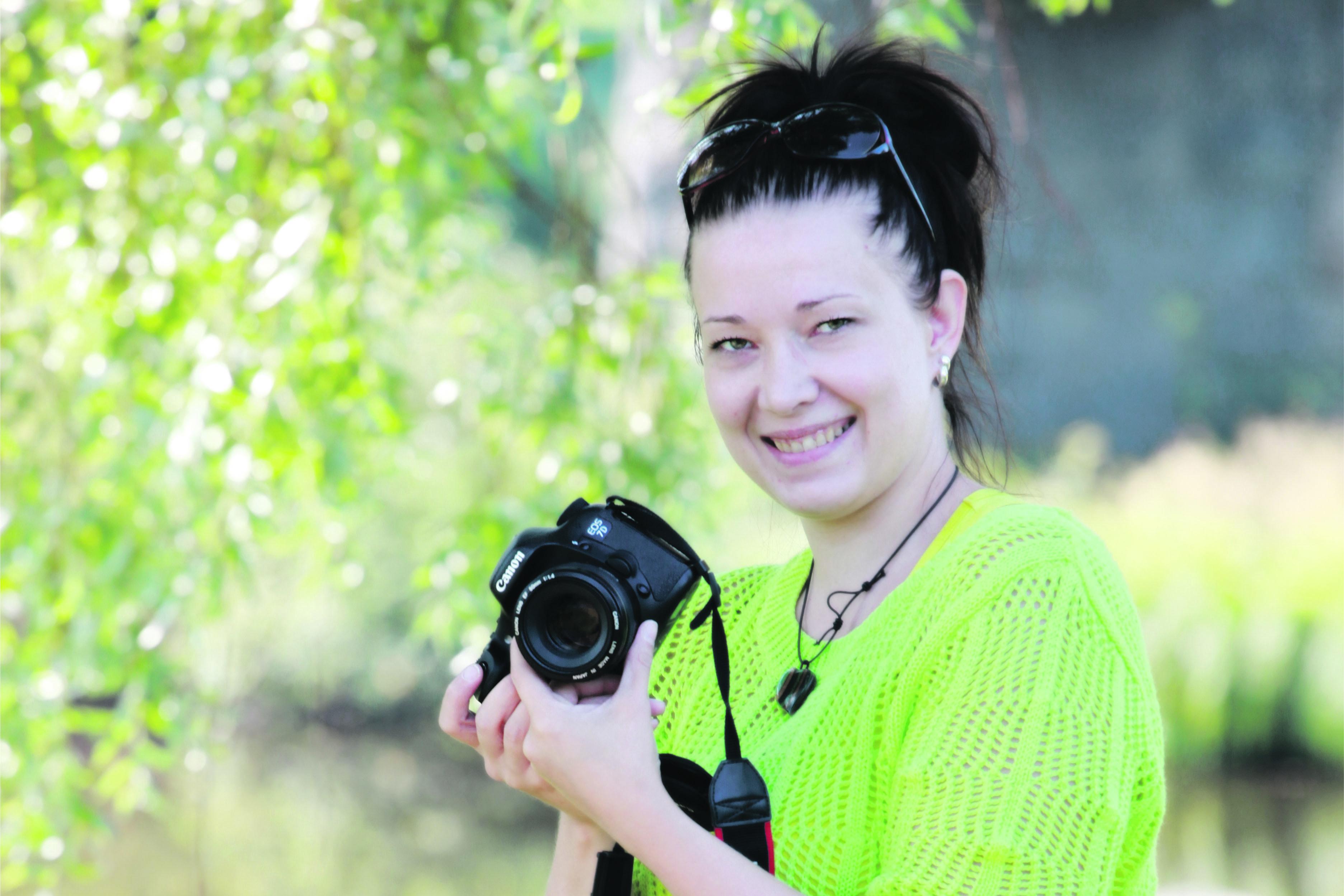 Jenni Rajaniemi opiskeli valokuvaajan ammattitutkintoon