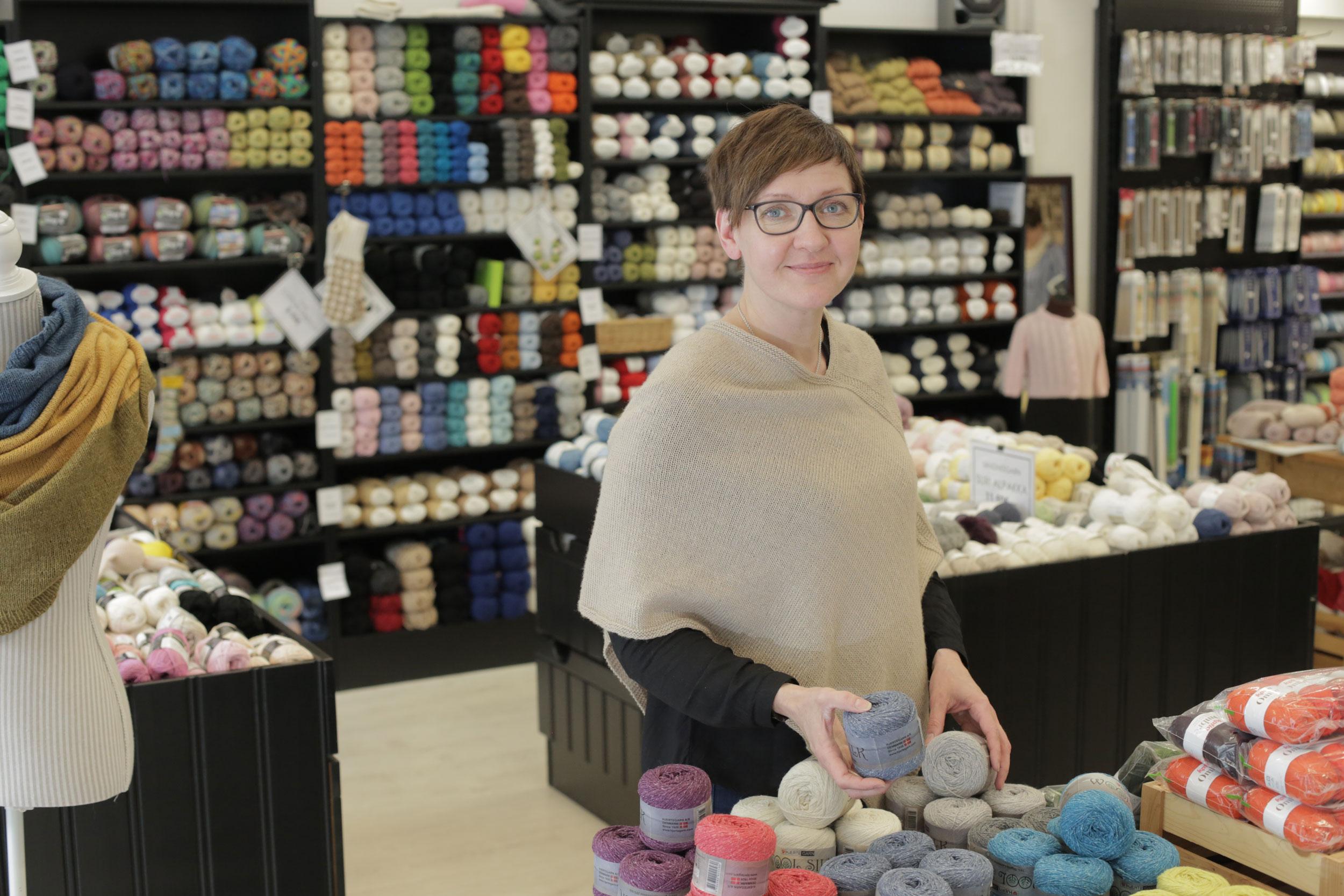 Sari Aho opiskeli yrittäjän ammattitutkintoon